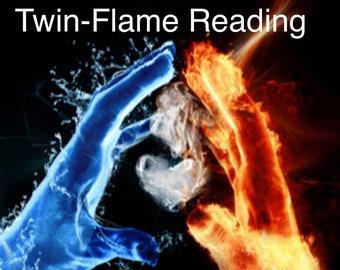 Twin flame prints   Etsy