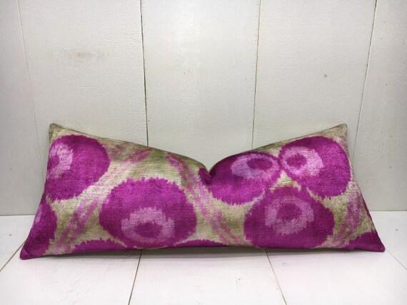 decorative pilow 16x24 velvet pillow cover handwoven silk pillow cushion  modern pillow cover accent pillows home decor home living