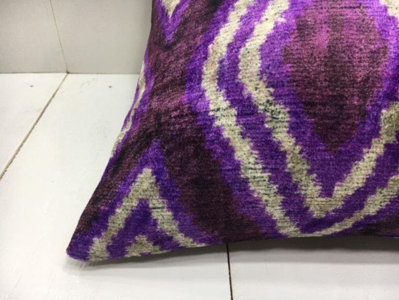 velvet pillow cover 16x16 handwoven silk pillow cushion decorative pilow modern pillow cover accent pillows home decor home living 16x16