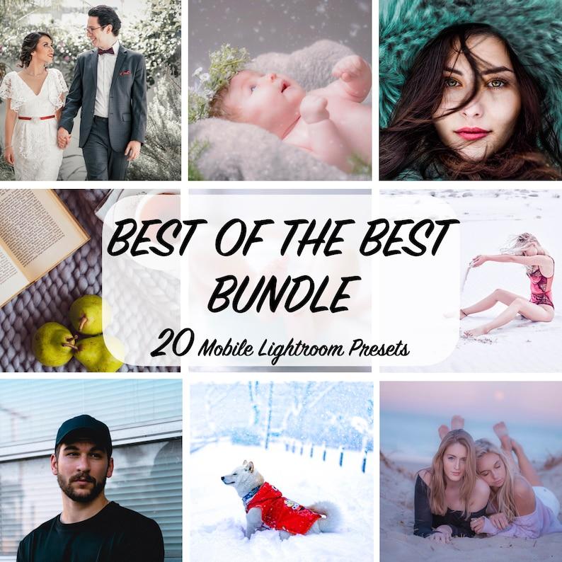20 Mobile Lightroom Presets  Best of the BEST Mobile Preset  image 0