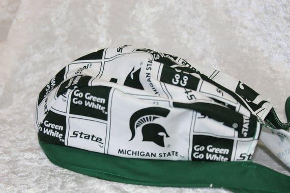 Adult Skull Cap Michigan State  90622b793d8
