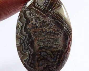 Crazy Lace Agate 100% Natural 32.10 Cts Oval Shape 33X22X5 mm Size Loose Gemstone | G4141