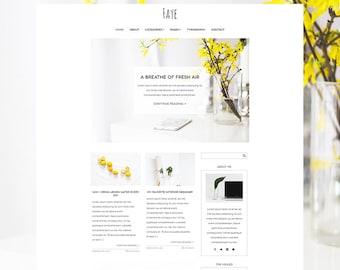 Responsive wordpress theme, wordpress blog theme, feminine wordpress theme, feminine blog theme, clean wordpress theme