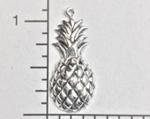 33894 - 3 Pc. Antiqued Victorian Pineapple Jewelry Finding Charm Silver Ox