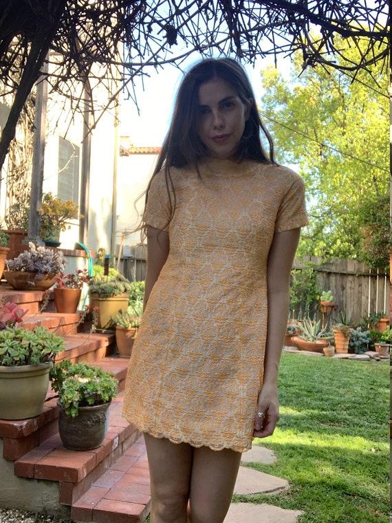 60's Mod Mini dress - image 3