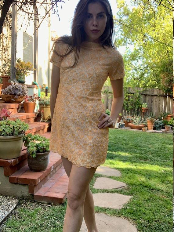 60's Mod Mini dress - image 1
