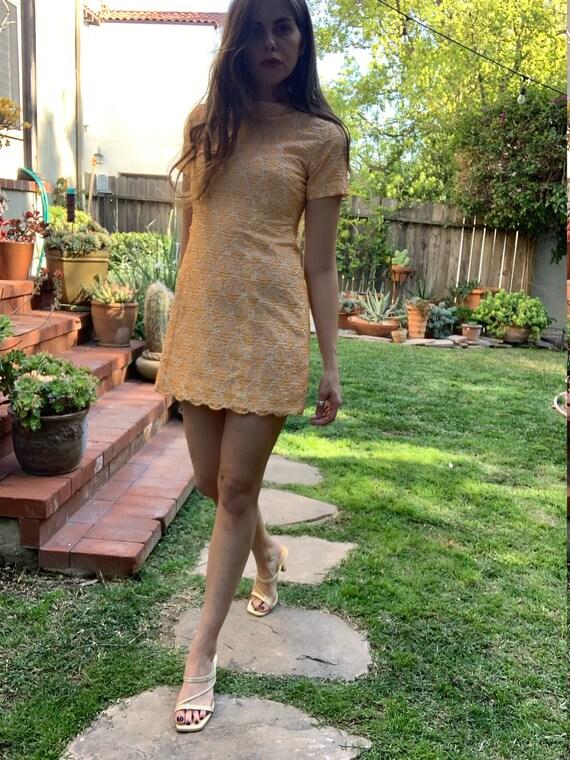 60's Mod Mini dress - image 6