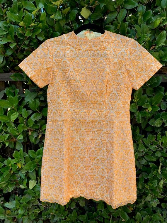 60's Mod Mini dress - image 8