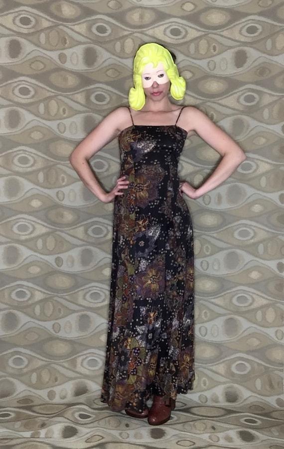70's Flower Power dress