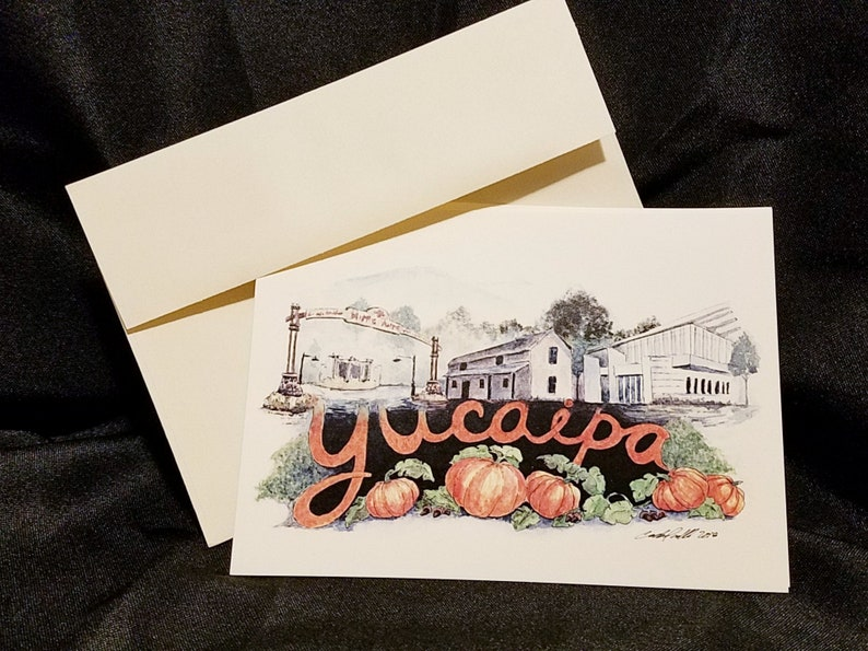 California Yucaipa 5X7  All Occasion Card