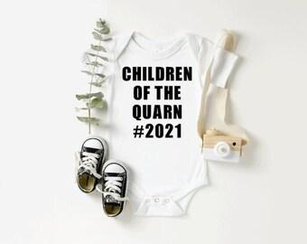 Children Of The Quarn 20202021 Quarantine Toddler ShirtGender Neutral Quarantine Onesie