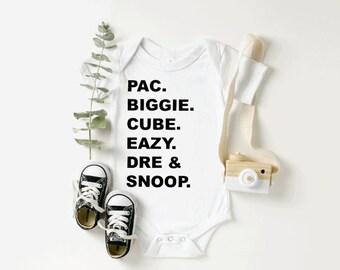 Unisex Onesies\u00ae Funny Onesie\u00ae Baby Shower Gift When I Sip You Sip Rap Onesie\u00ae Funny Baby Onesie\u00ae Rap Onesies\u00ae