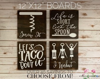 Funny Kitchen Signs Etsy