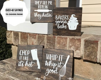 Kitchen Signs Etsy