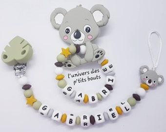 Custom nipple attachment and/or custom silicone koala rattle