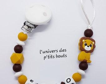 Custom silicone nipple attachment - lion
