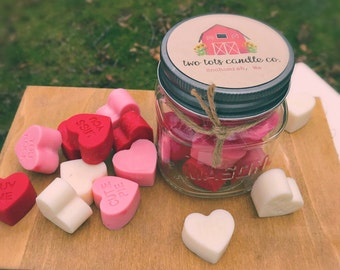 Valentines Day/Handmade/Soy Candle Wax/Candle Melts