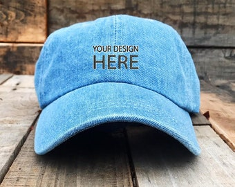 low priced 13f69 86cf2 Custom Embroidered Baseball Hats For Men and Women   Dad Hat   Embroidered Baseball  Cap   FREE SHIPPING