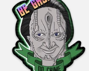 Star Trek DS9 Elim Garak  - Die Cut Sticker
