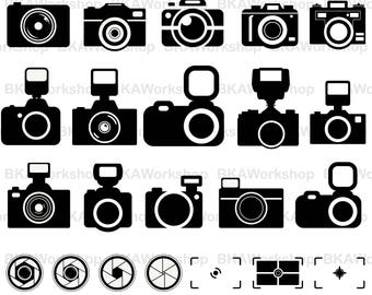 Camera svg - Camera vector - Camera clipart - Camera digital clipart for Design or more, files download svg, png, dxf