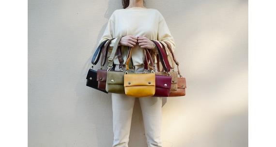 Convertible Vegan Belt bag,Fanny pack,Waist bag,Chest bag,Bum bag,vegan faux leather purse,removable adjustable strap,banana bag