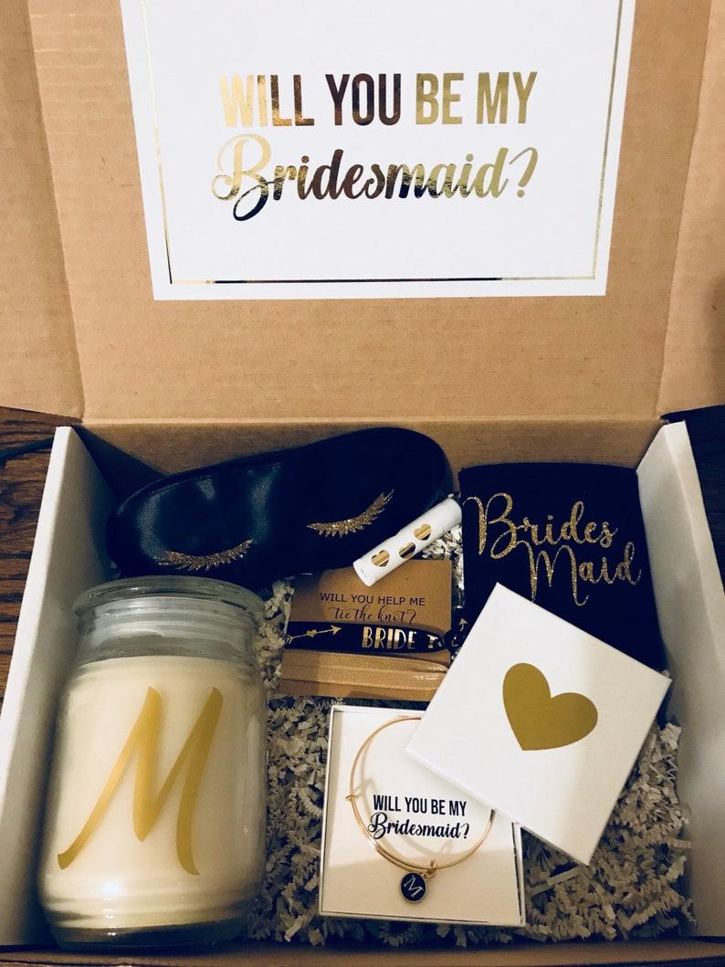 BRIDESMAID PROPOSAL BOX  Will you be my Bridesmaid Box image 0