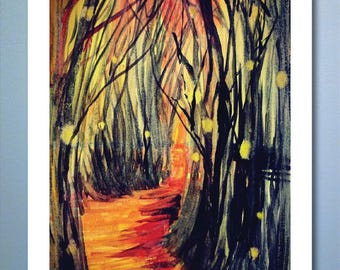 Enchanted Forest - 11x14 Poster Print