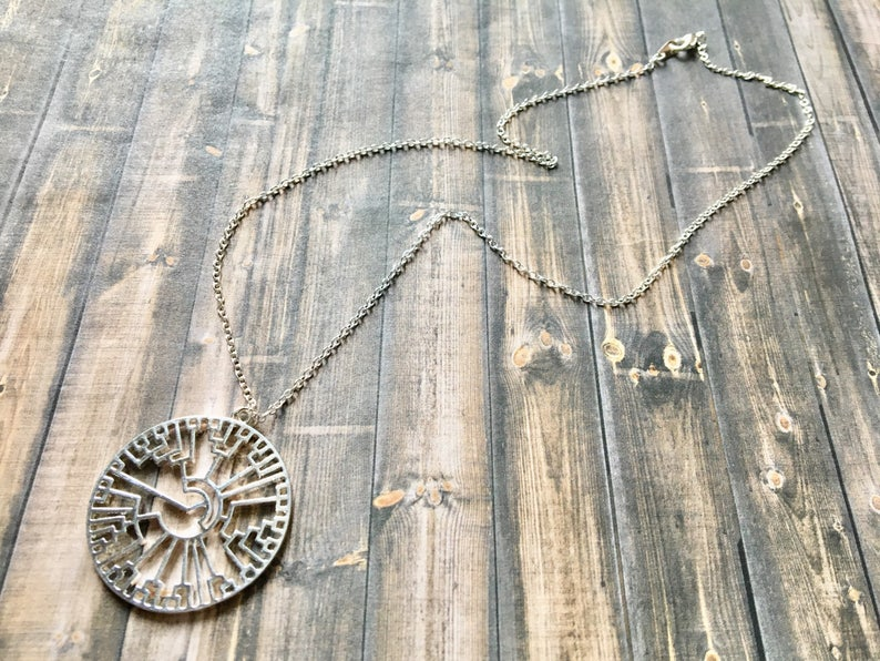 Science Geek Gift Phylogenetic Tree Necklace  Gold or Silver Plated  Tree of Life Evolution Necklace  Science Jewelry  Scientist