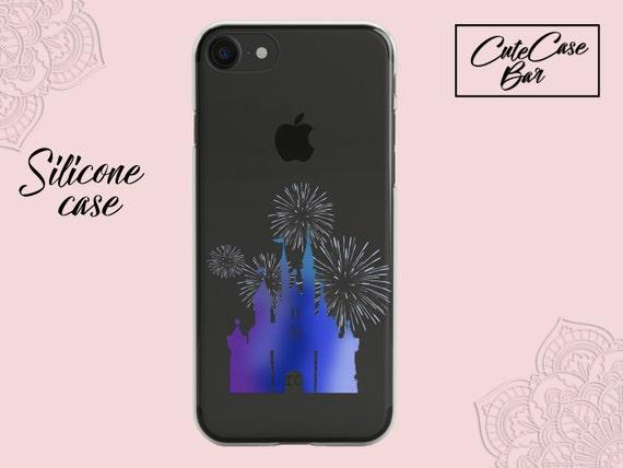coque iphone 8 plus silicone disney