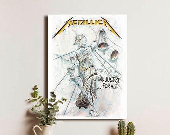 Metallica Rock /& Roll Heavy Metal LP Record Album Wall Decor Unique Music Art