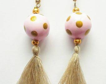 Earrings Pink Diva