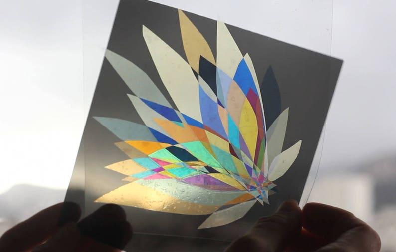Bluffing Magic Card Kit in polarized art DIY manual image 0