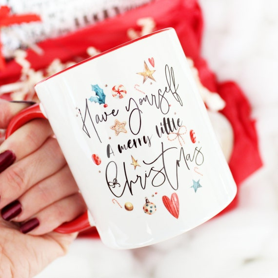 have-yourself-a-merry-little-christmas-mug by etsy