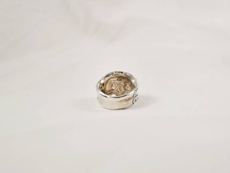 handmade in Italy Mexican skull ring in 925/% silver