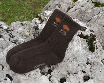 Yak Wool Winter Socks, Thick and Ultra-Soft, Pure Yak Down, Cozy and Lovely Winter Socks. Ready to ship free worldwide from Switzerland