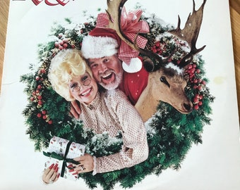 Kenny And Dolly Christmas.Items Similar To Vintage Christmas Cassette Tape Collection
