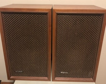 Sony SS 510 Bookshelf Speakers