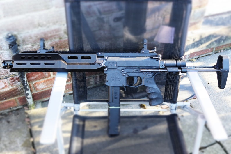 handguard mod (Scorpion)for Milsig SMG -STL file for 3d printing