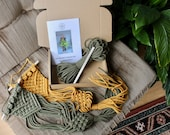 Macrame Plant Hanger Kit Make Your Own Plant Hanger Choose your own colour Macrame Wall Planter
