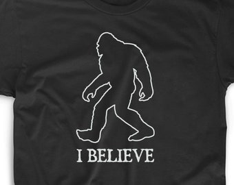 5ea6b503 I Believe T Shirt Tee Funny Gift Bigfoot Sasquatch Squatch Squatchin Yeti  Uncle Aunt Funny Brother Nephew Niece Fun Uncle