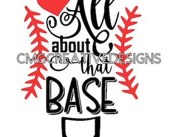 all about that base clip art for sublimation and waterslide. svg file included. baseball base