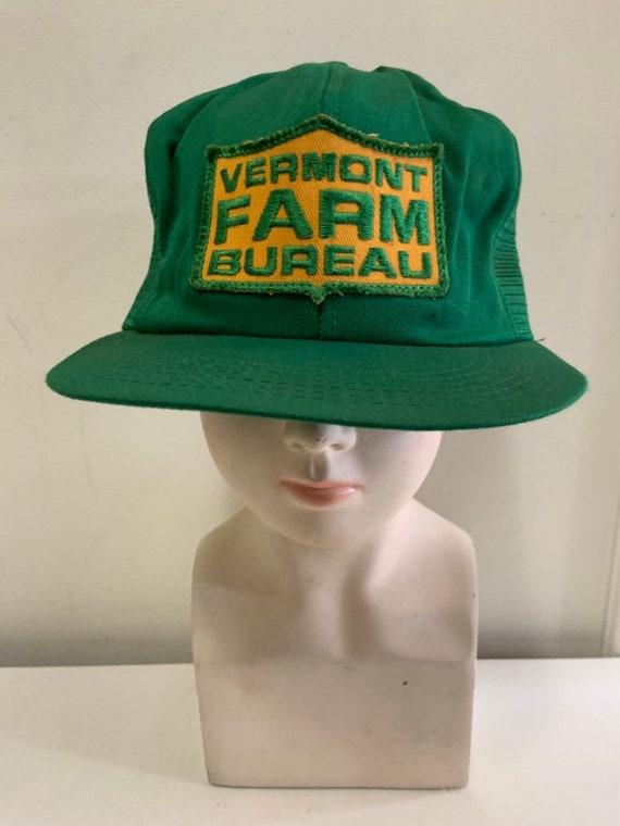 Vintage Trucker Hat - Vermont Farm Bureau - Patch