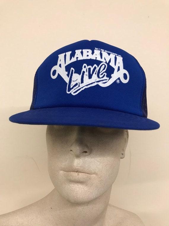 Vintage Trucker Hat Alabama Live Blue Mesh Hat / S