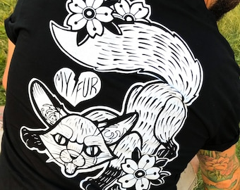 Fox, my fur, fur is cruel, animals, end fur, fur, vegan, animals lover, dogs,tattoos, vegetarian, stop cruelty, animal liberation, art