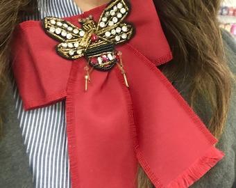 bb731562ce6 Neck Fashion Bows Gucci Inspired Bee Unique!