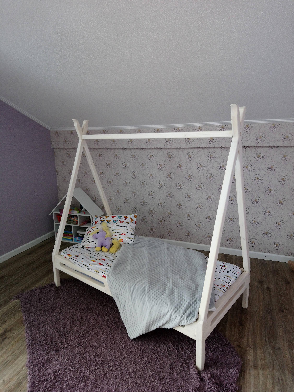 Kleinkind Bett Montessori Bett Haus Bett Holz Baby Möbel Kind   Etsy