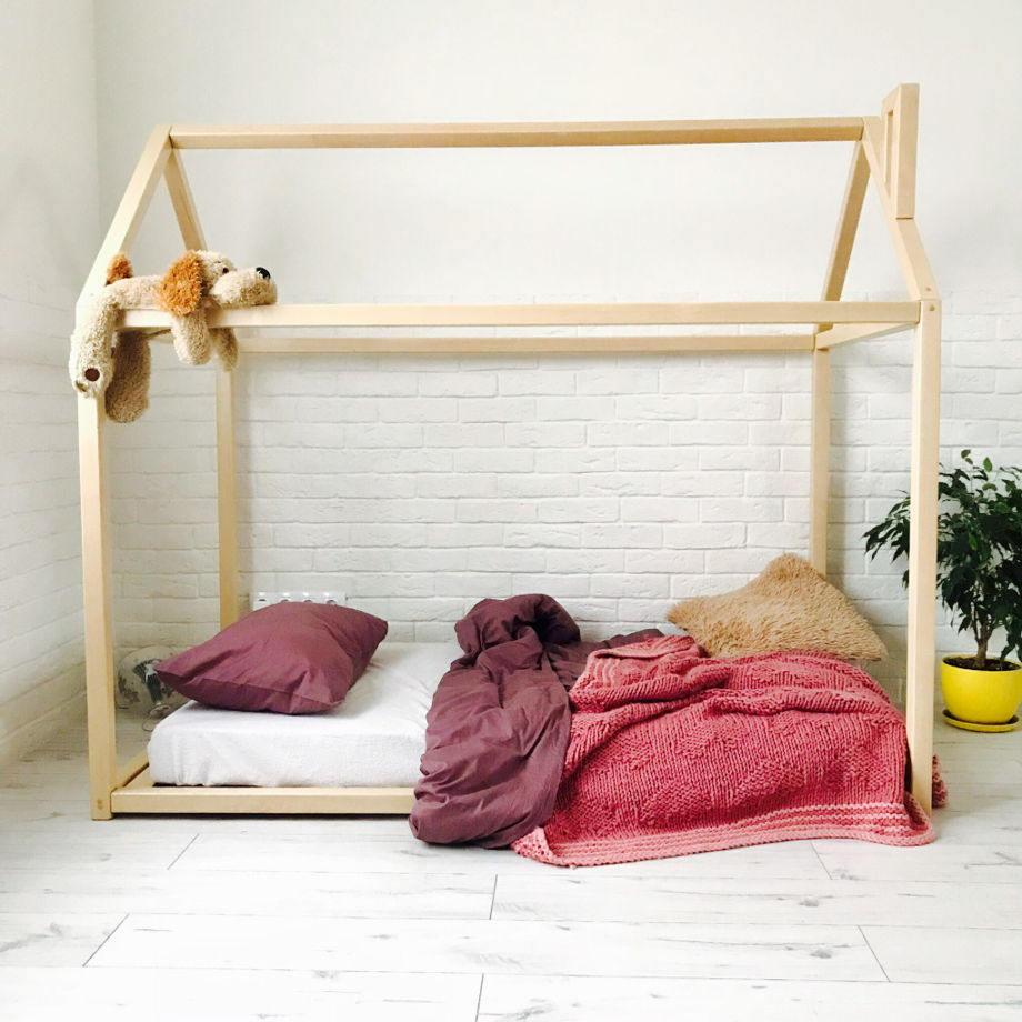 Kleinkind Bett Montessori Bett Haus Bett Holz Möbel Kind | Etsy