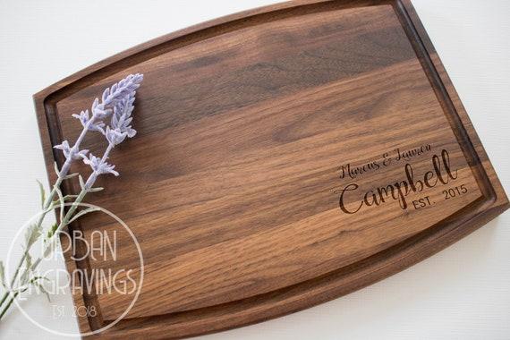 Artistic Tree Cutting Board Engraved Cutting Board T11 Personalized Wedding Cutting Board Wood Gift Custom Cutting Board