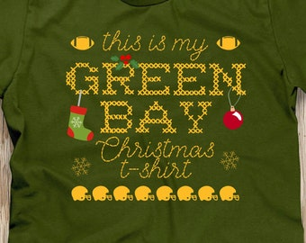 Ugly Christmas Sweater Packer Etsy