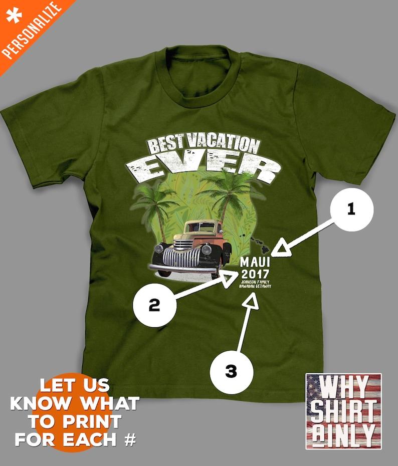 0c95009fb76e Hawaii vacation shirts custom hawaii t-shirts for family | Etsy